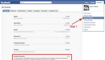 Secure Your Facebook Page