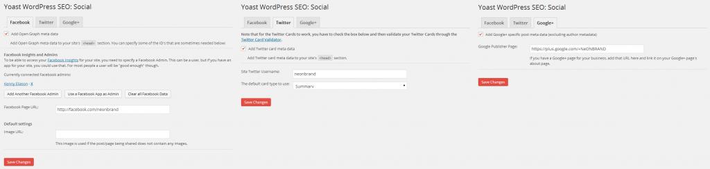 Yoast WordPress SEO Social
