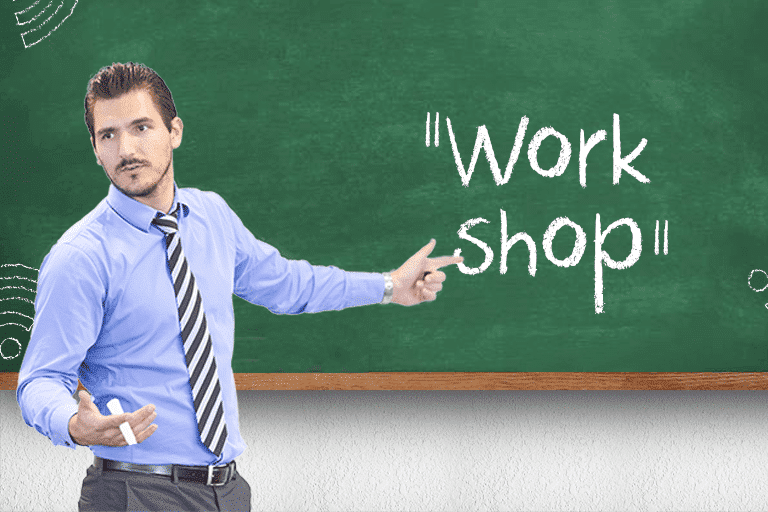 teach a workshop to generate more traffic